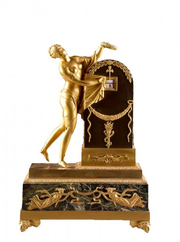 L'Oubli du Temps -  - Early 19th century  Cercle tournant clock by Claude Galle