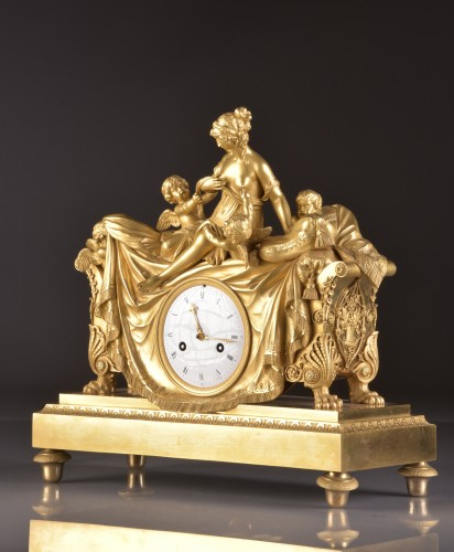 French Empire clock att. to Claude Galle  - Horology Style Empire