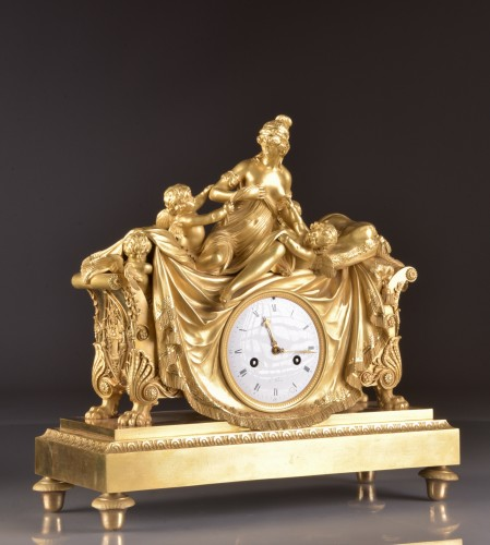 Horology  - French Empire clock att. to Claude Galle