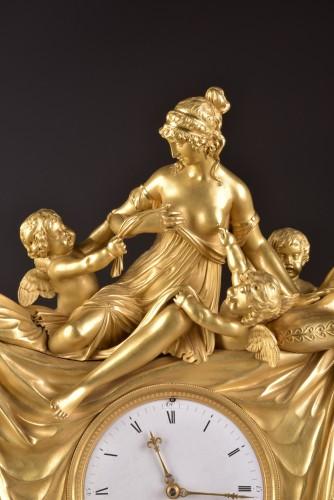 French Empire clock att. to Claude Galle  - Empire