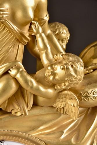 Antiquités - French Empire clock att. to Claude Galle