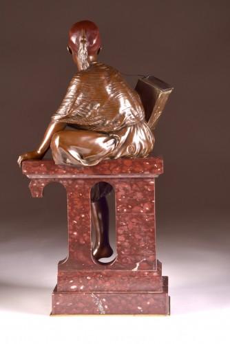 Antiquités - Edouard Pepin (1842-1927), Young shoeshine Arabian