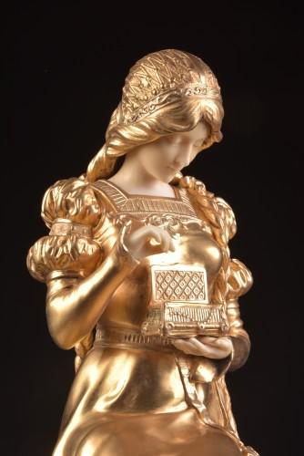 Sculpture  - Pandora sculpture - Dominique ALONZO ( act. 1910-1930)