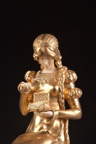 Pandora sculpture - Dominique ALONZO ( act. 1910-1930) - Art nouveau