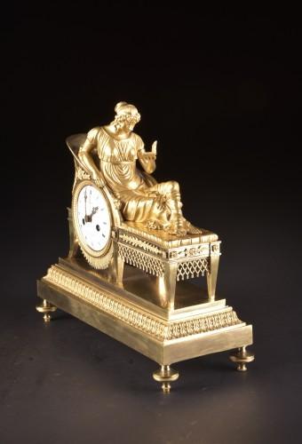 Antiquités - Madam Recamier, signed Champion à Paris