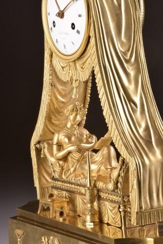 Empire - Madam Recamier, signed Bazile-Charles Le Roy (1765-1839)