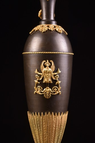 A Large Empire bronze ewers - Decorative Objects Style Empire