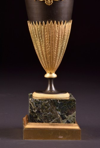 Decorative Objects  - A Large Empire bronze ewers