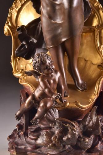 Sculpture  - Le char de l'aurore -  Louis Auguste Moreau circa 1880