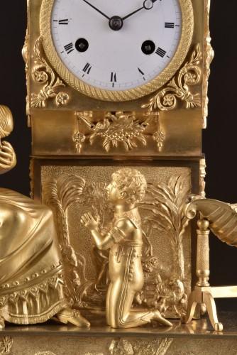 Empire - French  Empire clock signed Jean Simon Deverberie á Paris