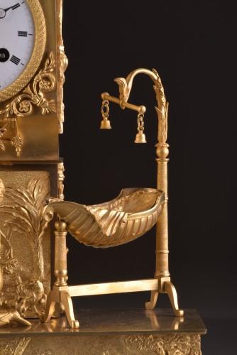 Antiquités - French  Empire clock signed Jean Simon Deverberie á Paris