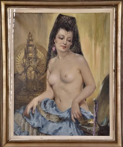 Paintings & Drawings  - Charles Van Roose (1883-1960), Spanish beauty