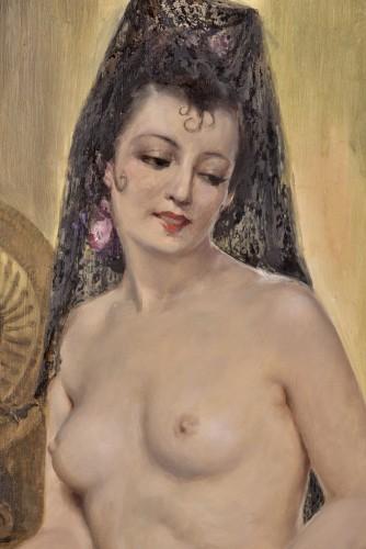 20th century - Charles Van Roose (1883-1960), Spanish beauty
