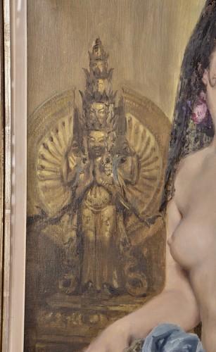 Charles Van Roose (1883-1960), Spanish beauty - Art nouveau