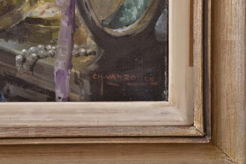Art nouveau - Charles Van Roose (1883-1960), Spanish beauty