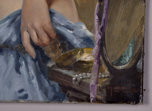 Antiquités - Charles Van Roose (1883-1960), Spanish beauty