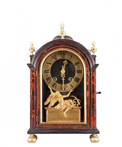 French 17th century 'Religieuse Clock' by P. Lemeire