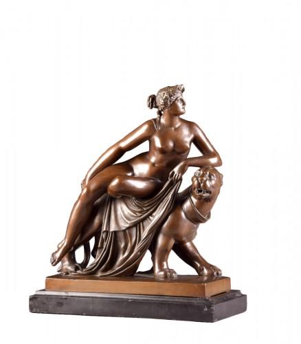 Ariadne on the Panther, - Hermann Gladenbeck (1827-1918)