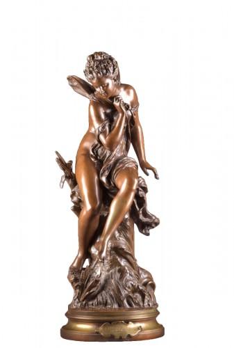 La Libellule - Mathurin Moreau (1822-1912)