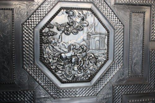Furniture  - French ebony and ebonized wood Cabinet, Paris, first half 17th century