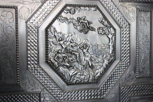 French ebony and ebonized wood Cabinet, Paris, first half 17th century -