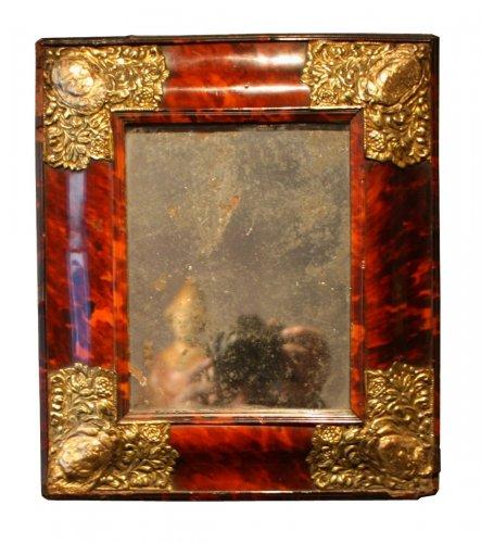 A 17th century Antwerpen tortoiseshell casket