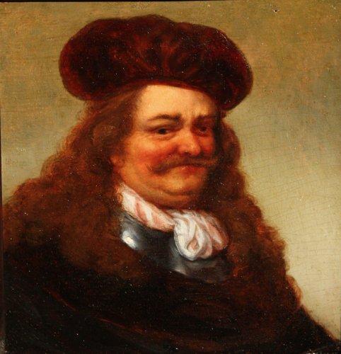 Portrait of a noble man, 17th c. Dutch school