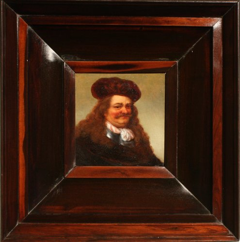 Portrait of a noble man, 17th c. Dutch school - Paintings & Drawings Style