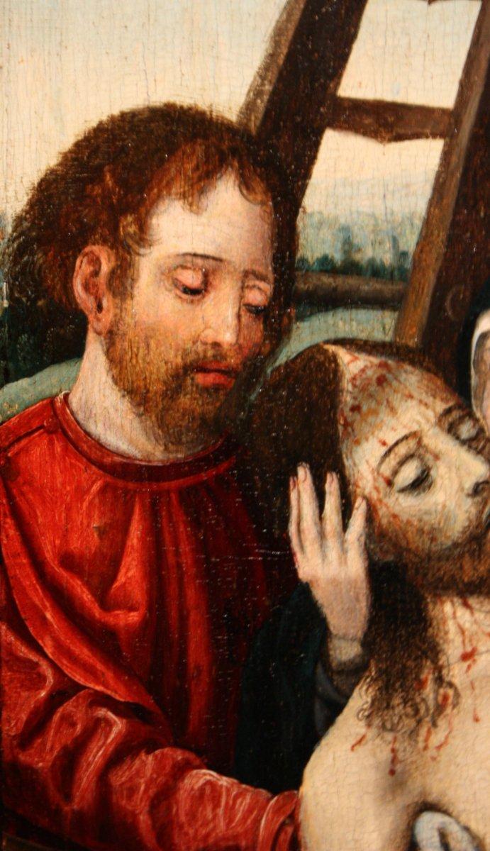 Assez Déploration du Christ, circle of Joos Van Cleve circa 1530 - Ref.60226 PD72