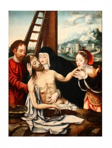 Déploration du Christ, circle of Joos Van Cleve circa 1530