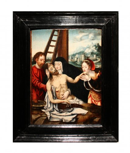 Déploration du Christ, circle of Joos Van Cleve circa 1530 - Paintings & Drawings Style