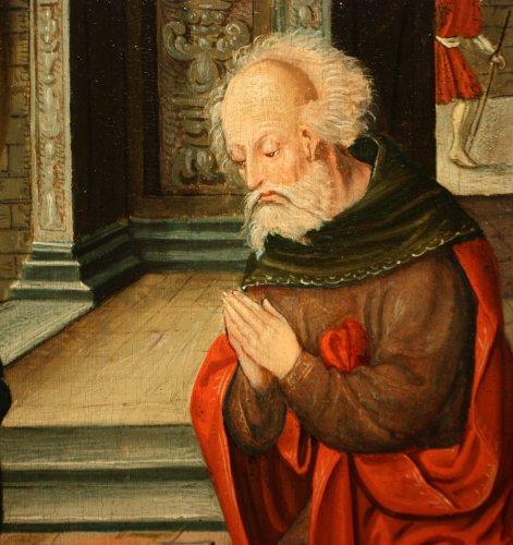 Birth of Jesus, circle of Pieter Coecke van Aelst, 16th c. Flemish school -