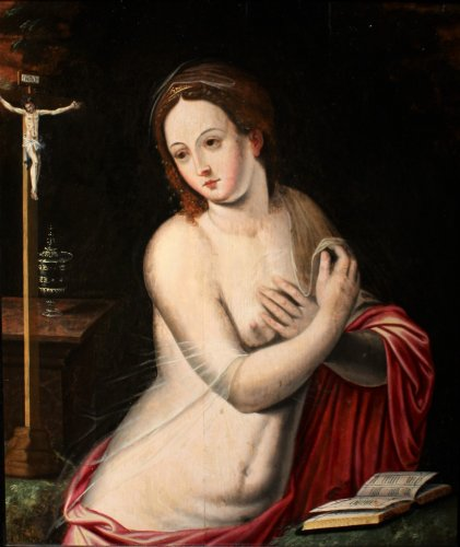 Mary Magdalene Flemish School of the 16th century, circle of Michiel Coxcie