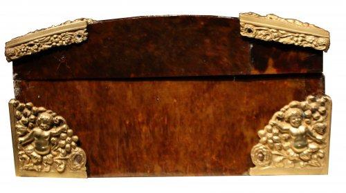 17th century Tortoiseshell case, Antwerp, Louis XIV period -
