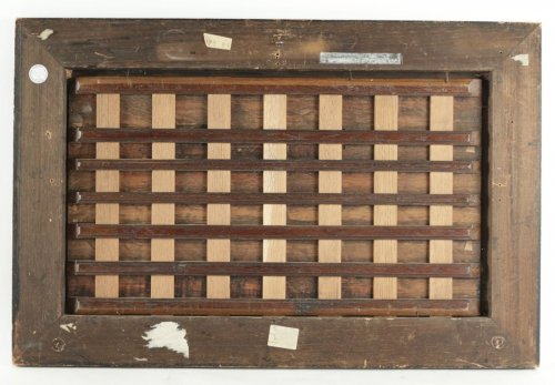 Antiquités - Merry company, 17th c. Flemish school, oil on panel