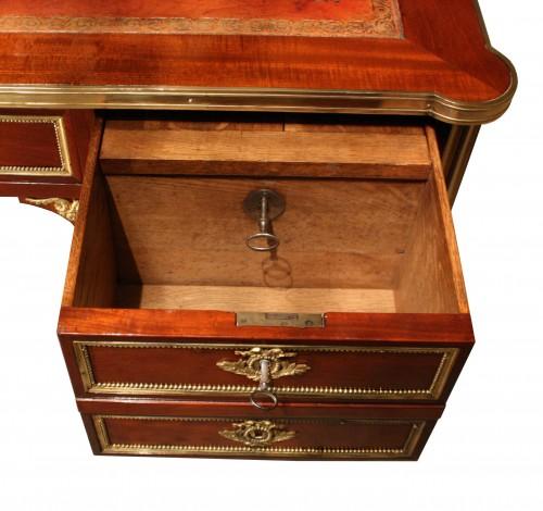Louis XVI Mahogany Bureau plat stamped G. DESTER -