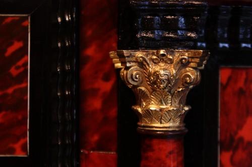 - A 17th c Antwerp tortoiseshell cabinet
