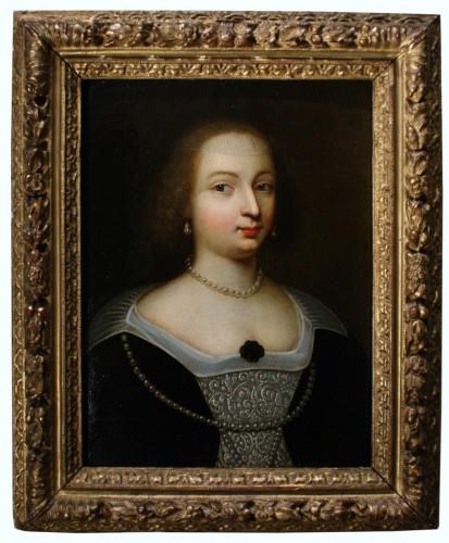Portrait of Marie de Bourbon-Montpensier, Workshop of Beaubrun, circa 1625