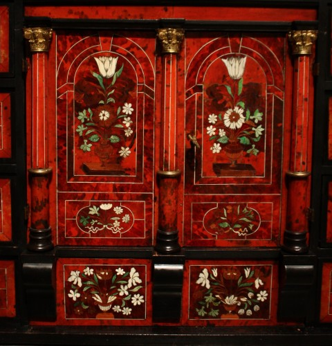 17th century - A Louis XIV circa 1670 prestige cabinet attributed to Pierre Gole