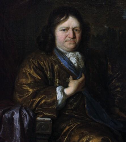 Portrait of a Gentleman, signed Carel de Moor (1655-1738), dated 1690 - Paintings & Drawings Style Louis XIV