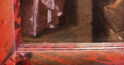 Paintings & Drawings  - Portrait of a Gentleman, signed Carel de Moor (1655-1738), dated 1690