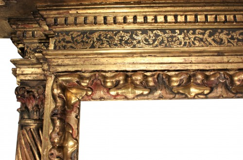 Italian Renaissance giltwood frame tabernacle  -