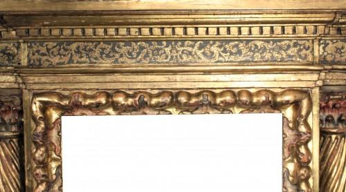 16th century - Italian Renaissance giltwood frame tabernacle