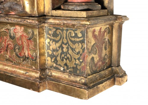 Italian Renaissance giltwood frame tabernacle  - Renaissance