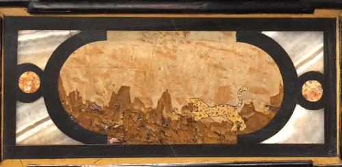 17th century - A 17th c. Augsburg hard stones inlaid cabinet