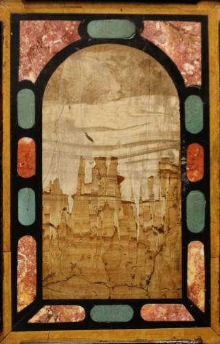 - A 17th c. Augsburg hard stones inlaid cabinet