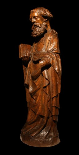 16th century - 14th C. German Limewood Figure Of St Peter