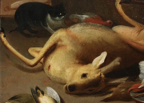 Jan Van Kessel II (1654-1708) Still Life With Game, Oil On Copper - Paintings & Drawings Style
