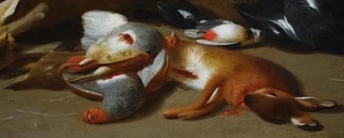 Jan Van Kessel II (1654-1708) Still Life With Game, Oil On Copper -