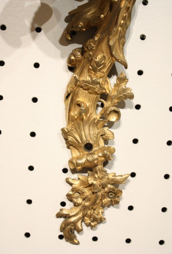 Antiquités - Mid 19th Century Pair Of Fine Gilt Bronze Wall Sconces